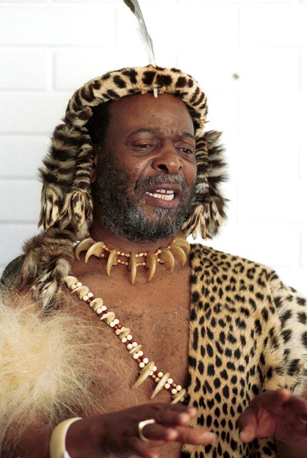 Ingonyama Zulu King Goodwill Zwelithini ka Bhekuzulu