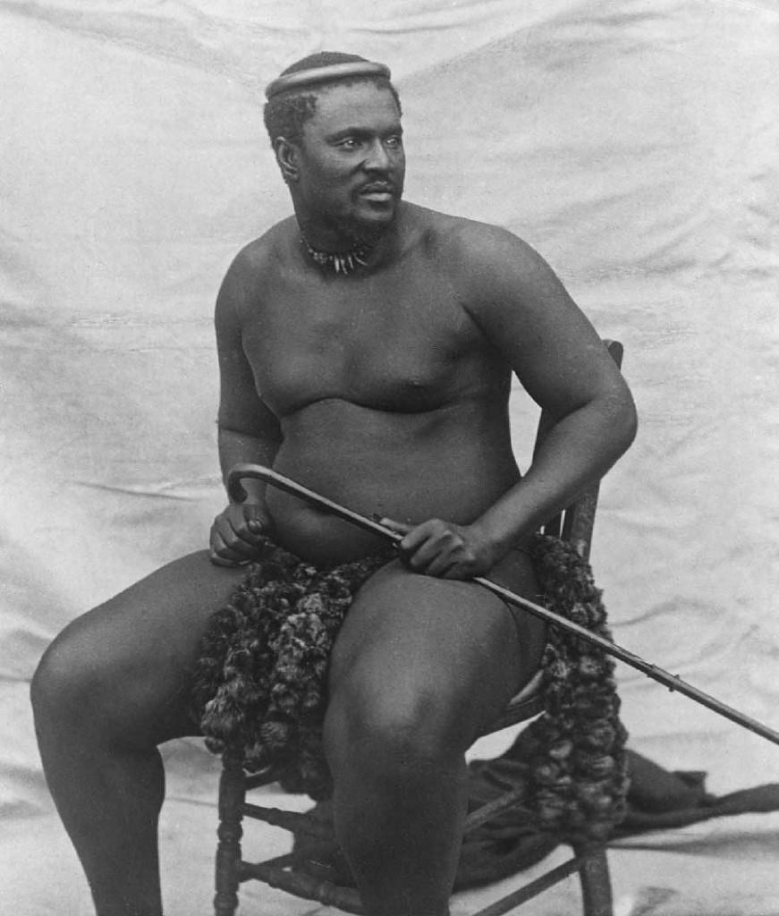 Zulu King Cetshwayo - c1875Zulu King Cetshwayo - c1875