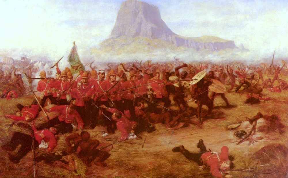 The Battle of Isandlwana (Charles Edwin Fripp)